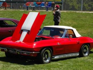 Corvette Before PhotoShop