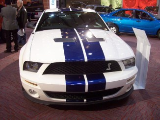 A new Ford Shelby Mustang GT 500