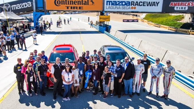 Mazda Honors Military Families at Mazda Raceway
