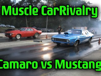 Camaro vs Mustang The Never Ending Rivalry (4k vidoe)