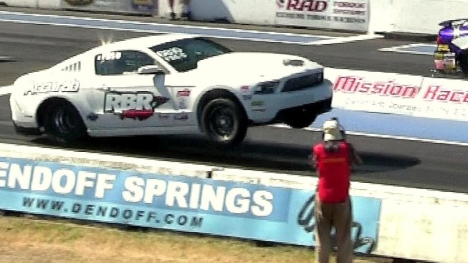 THE BEAST -8 sec Mustang pro-charged 1200 hp-the best of modern muscle drag racing