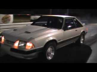 female Foxbody Mustang driver 2