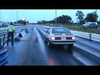 female mustang driver beats gto