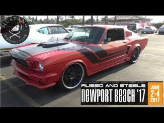 Mystery Mustang from Russo and Steele Newport Beach 2017 Mustang Connection 1965 Mustang Coupe