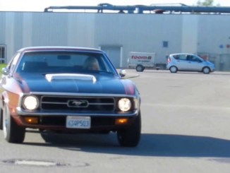 1972 Ford Mustang V8 351 CUI Coupé -- fahrend