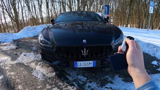 2021 Maserati Quattroporte Trofeo Unleashed on the Autobahn