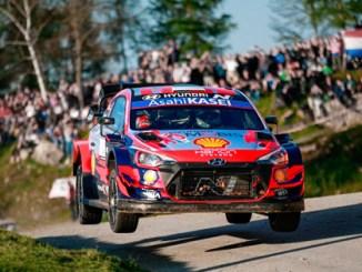 Hyundai Motorsport Finishes Third in Its First Asphalt Croatia Rally