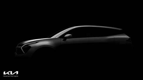 Kia teases first images of the all-new Sportage