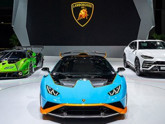 Lamborghini at the 2021 Shanghai Auto Show