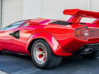 One of three Lamborghini Countach sold at auction