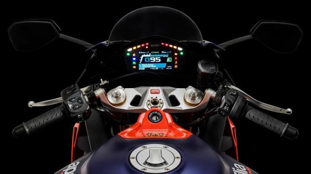 2020-Aprilia-RS660-Gösterge-paneli