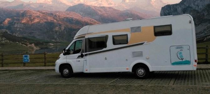 De ruta en motorhome por los Picos de Europa