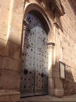 Church door, Albaida