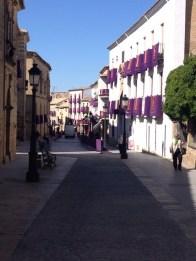 Getting ready for Semana Santa, Baeza