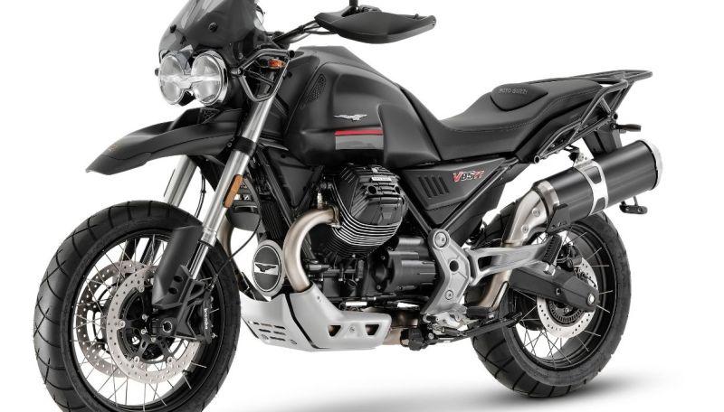 Moto Guzzi V85 TT is renewed