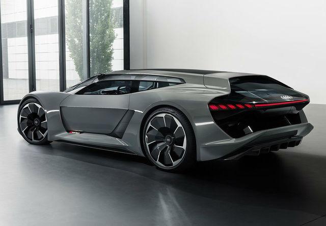Audi Unveils 764 Horsepower Electric Hypercar At Pebble
