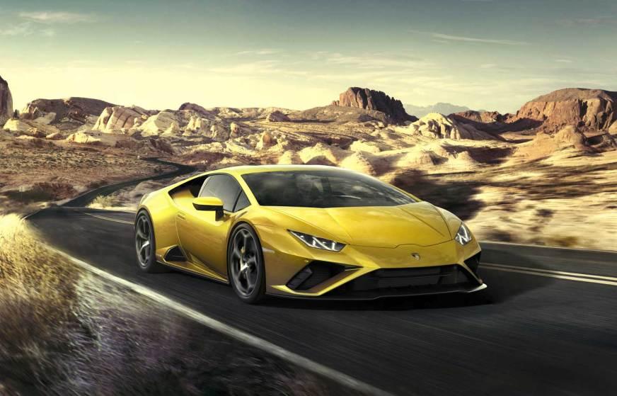 2020 Lamborghini Huracán EVO RWD Unveiled - Motor Illustrated