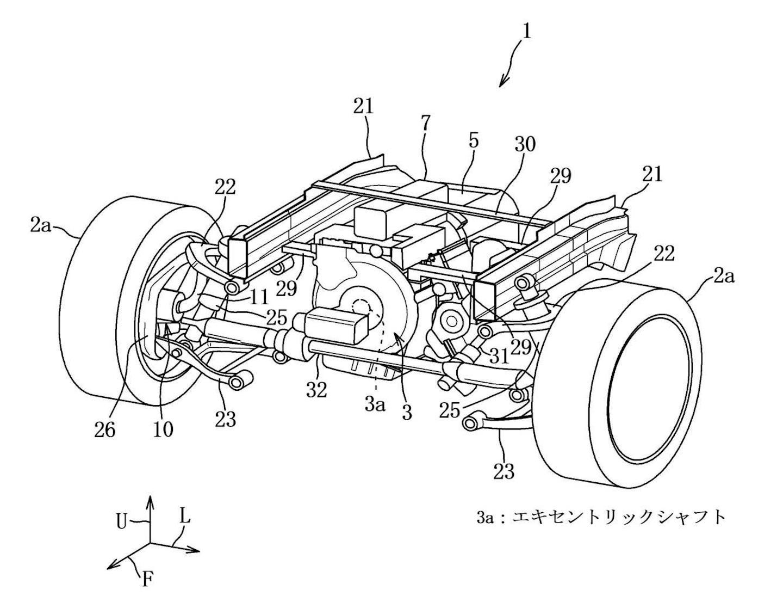 New Mazda Patent Shows Rotary Hybrid Awd Powertrain