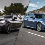 2021 Bmw 4 Series Coupe Vs 2020 Mercedes Benz C Class Coupe Spec Comparison Motor Illustrated
