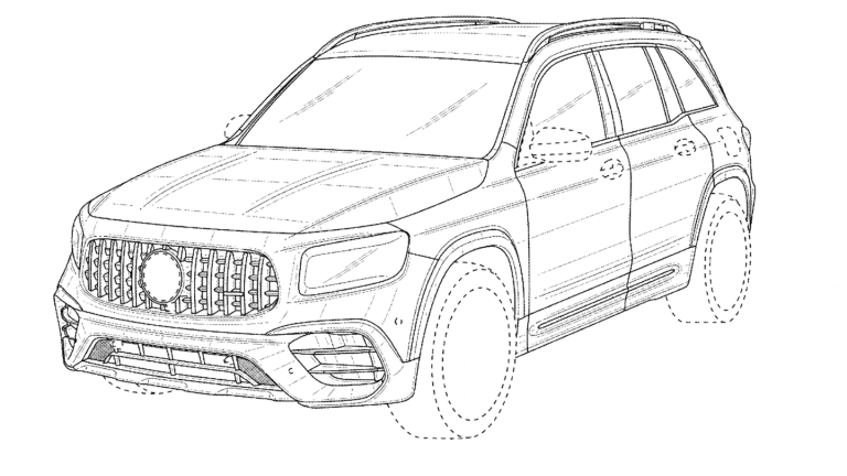 The 2021 Mercedes-AMG GLB 45 Confirmed In A Patent Filing