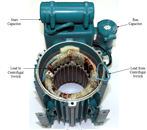 Single Phase Motor Capacitor Start Capacitor Run Wiring Diagram