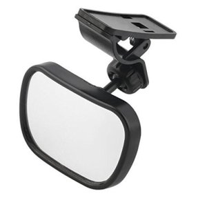 CATUO Baby car mirror for rear facing baby in a car with no headrest