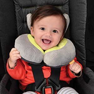 An image of a baby car head and neck support pillow