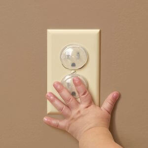 Electrical outlet covers child proof safety