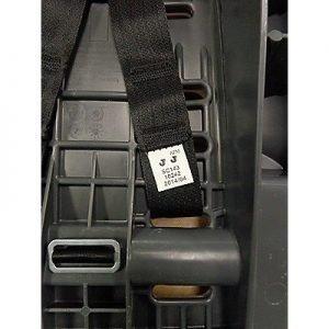 Webbing code on Graco My Ride 65 car seat
