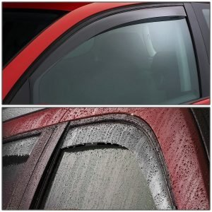 Chevy Silverado and GMC Sierra 1st Gen Extended Cab Tape-On Deflector Rain Guard, best rain guards for trucks