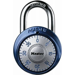 Master Lock 1561DAST Combination Dial Padlock for gym locker, most secure gym lock