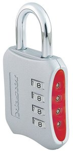 Master Lock keyless padlock for gym bags and lockers
