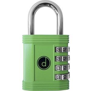 Desired Tools 4-Digit Combination Lock for gym lockers, school gym lockers, weatherproof lock boxes, weatherproof padlock