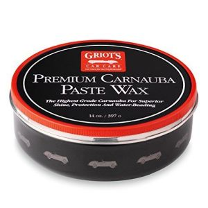 Griot's Garage 11029 Premium Carnauba Paste Wax 14oz, best wax to use on black cars