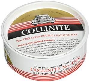 Collinite No. 476 Super Doublecoat Auto Wax, best carnauba paste wax for white cars