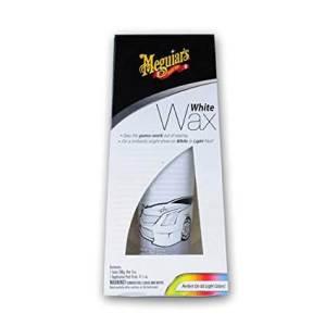 Meguiar's G6107 White Wax Paste - 7 oz., best wax for pearl white cars, best car wax for pearl white paint