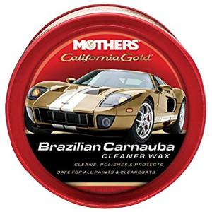 Mothers 05500 California Gold Brazilian Carnauba Paste Wax, best sealant and wax for white car