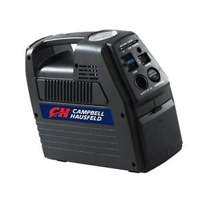 Campbell Hausfeld CC2300 Portable 12 Volt, Rechargeable Tire Inflator, cordless tire inflator, battery operated air pump for tires, best portable air compressor for truck tires