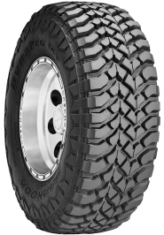 a truck tire for off the road driving