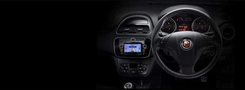 Abarth Punto Interiors