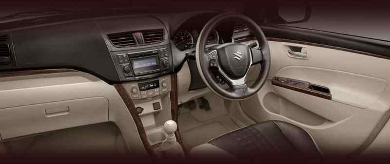 Limited-Edition-Maruti-Swift-Dzire-Allure-interior-press-image