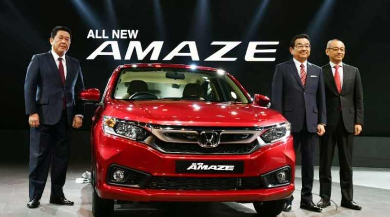 New Honda Amaze Launched at Rs 5.60 lakh (Introductory price)