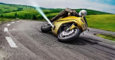 Bosch Developing Motorcycle Crash Prevention Thrusters