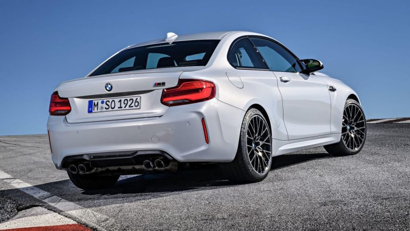 m2 competition rear look