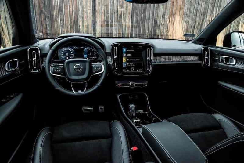 xc40 interior image