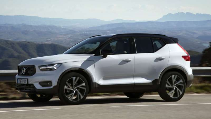 volvo xc40 side profile