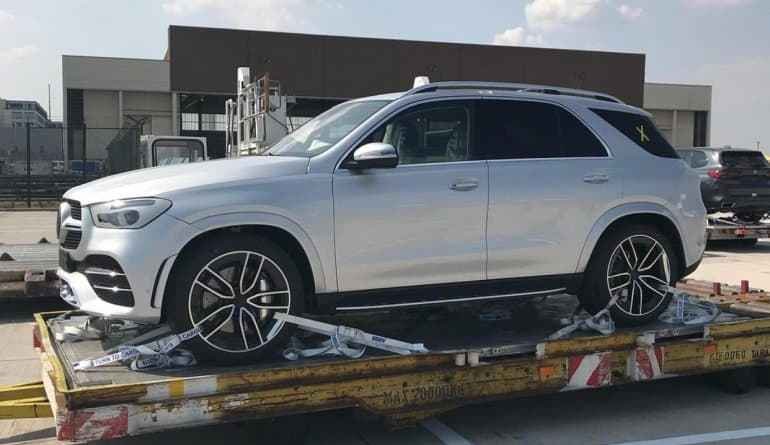 2019 Mercedes GLE Spied, Coming to India Next Year