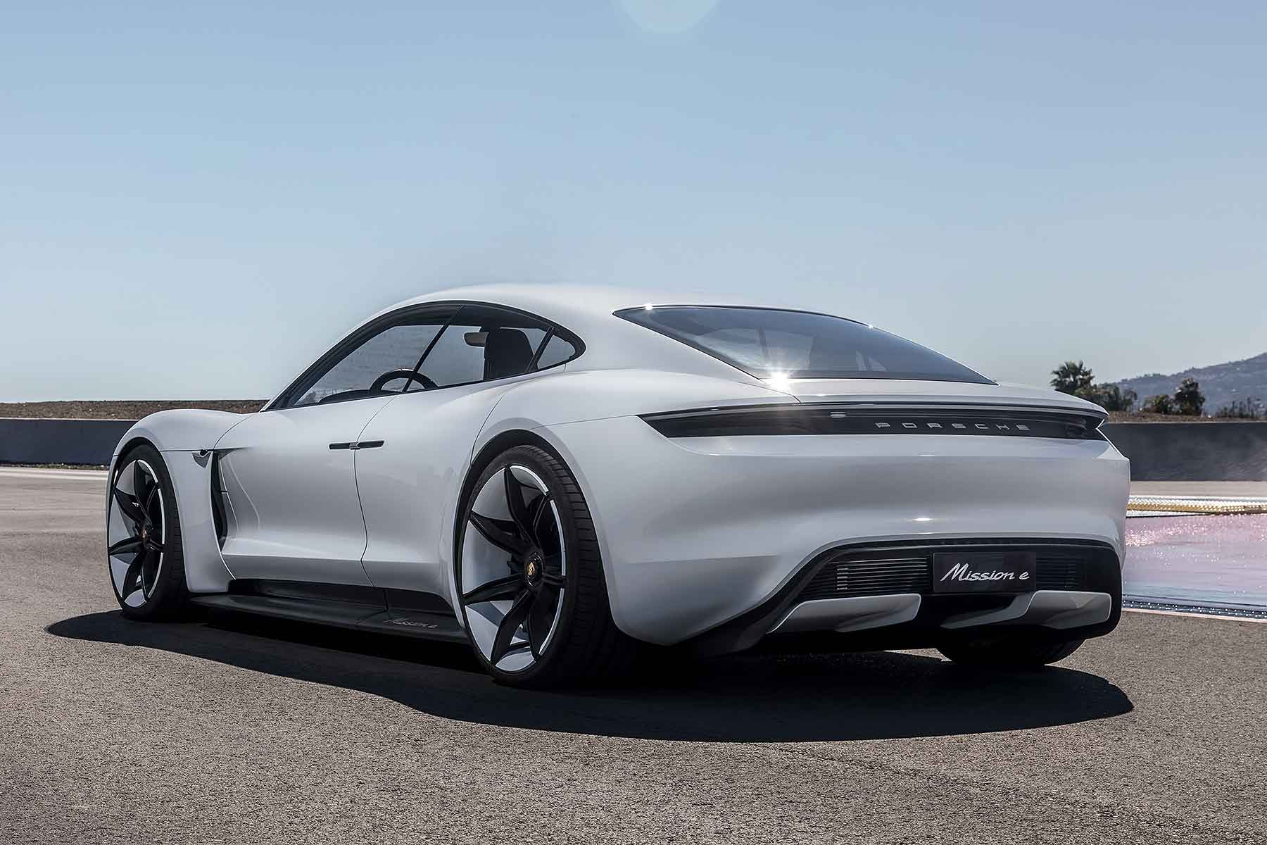 Sorry, It's Taycan Porsche Names Its First Electric Car