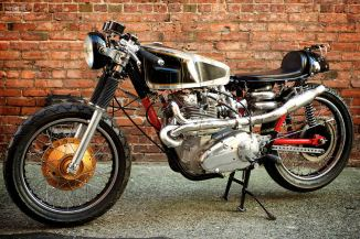 Triumph Trident Cafe Racer by Super Rat