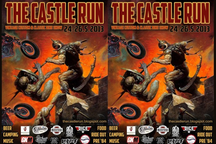 The Castle Run, Vintage Custom, Classic Bike Show